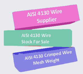 AISI 4130 Wire Supplier In India