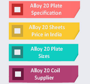 Alloy 20 Plate Supplier In India