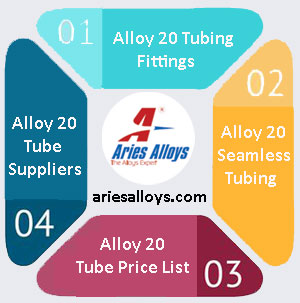 Alloy 20 Tubing Manufacturer In India