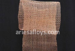 Cu-Ni Knitted Wire Mesh Dealer In India