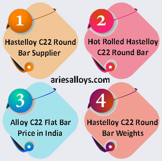 Hastelloy C22 Round Bar Supplier In India