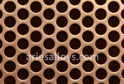 Cupro Nickel Perforated Plate Manufacturer In India