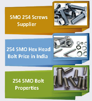 254 SMO Fasteners Supplier In India