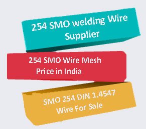SMO 254 Wire Supplier In India