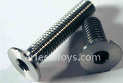 Titanium Grade 5 Counter Sunk Bolts Supplier In India