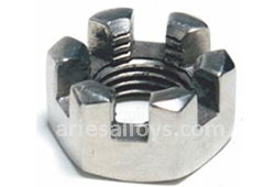 Titanium Grade 5 Slotted Nut Manufacturer In India